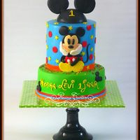 Mickey Mouse *I love making Mickey Mouse cakes. Thanks for watching! x Peggy