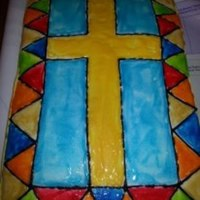Cross Stained Glass *Cross stained glass