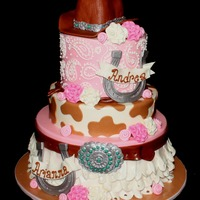 Pretty In Pink Cowgirl Cake Pretty in Pink Cowgirl Cake