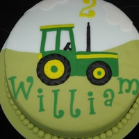 2D Tractor Made for a friends little boy who is mad about tractors
