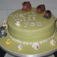 Animals Farewell Cake