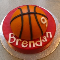 Basketball Fondant Kids Birthday Basketball, fondant, kids birthday