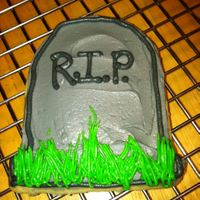 Tombstone Halloween Sugar Cookie