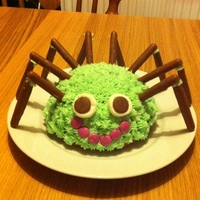 Friendly Spider Cake
