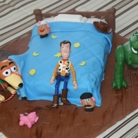 Toys Story Bed Cake