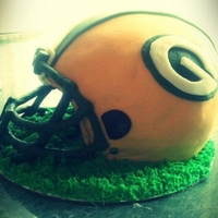 Green Bay Football Helmet