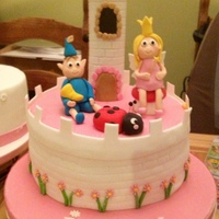 Ben And Holly Cake Ben and Holly cake