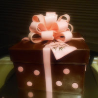 Chocolate Gift Box Cake