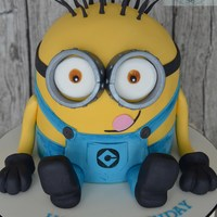 """minion"" Birthday Cake"