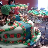 Go Diego Go Bday Cake And Cupcakes
