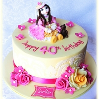 Doll Cake For Facebook