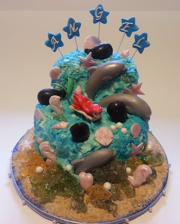 This Cake Was Designed For A 4 Year Old Going To Sea World Granted By Make A Wish   This cake was designed for a 4 year old going to Sea World granted by Make a Wish.
