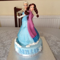 Fozen Anna And Elsa Original Idea By Cupncake Thanks   Fozen anna and elsa, original idea by cupncake, thanks