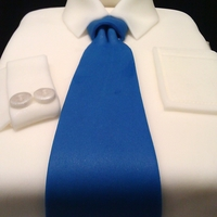 Shirt And Tie Cake Shirt and Tie Cake for my co-worker