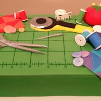 Quilting Birthday Cake