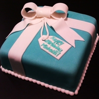 Tiffany Box Tiffany Box Birthday Cake