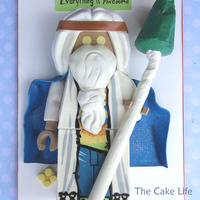 Vitruvius Lego Cake Vitruvius Lego cake from The Lego Movie