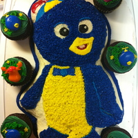 Backyardigan- Pablo Cake