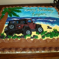 Bryans Birthday Jeep