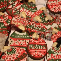 Personalised Gingerbread Christmas Decorations