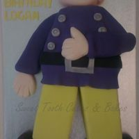 "Fireman Sam I enjoyed making this cake, my biggest yet as It was just over 20"" long :)"