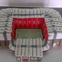 Old Traffod Stadium this cake was a challenge for me, the biggest for me. I made a few mistakes and know were id make changes next time but really proud for a...