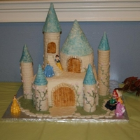 Castle Cake Castle Cake For my daughters 5th Birthday.