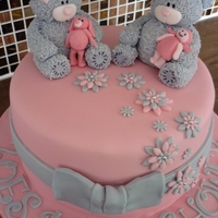 "Tatty Teddy Cake This was an 8"" vanilla sponge cake created for a lady for her baby shower who loves tatty teddies"