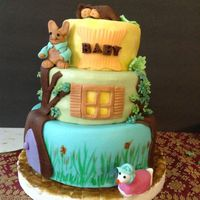 Beatrix Potter Baby Shower Theme Cake