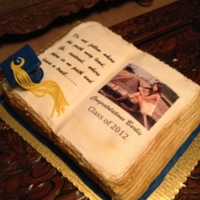 Barbie's Graduation Cake