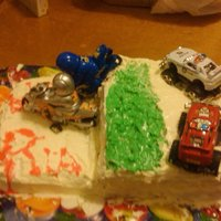 High Speed Car Chases Cake