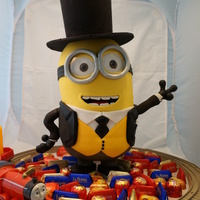 Minion Dressed As Fat Controller In Thomas The Tank Engine