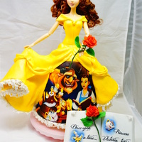 Belle Cake From Beauty And The Beast