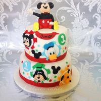 Mickey Mouse Club House Themes For A First Birthday With Pluto Donald And Goofy   *mickey mouse club house themes for a first birthday with pluto donald and goofy