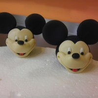 Baby Booties Mickey Heads