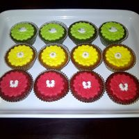Just For A Friend! Lime , Lemon and Strawberry Cupcakes