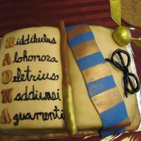 Harry Potter Grad Cake
