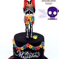 Dia De Los Muertos Skeletona This is my contribution to Sugar Skull Backers - collaboration in honor of the mexican holiday Dia de los Muertos. I am so happy to be part...