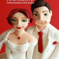 Winter Love - Wedding Cake For Cakeart Special Magazin