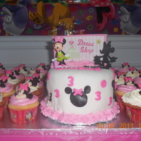 Minnie Mouse Cakes And Cupcakes