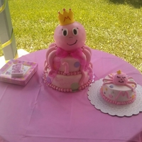 Birthday Octopus Cake Baby 1st Birthday Octopus cake