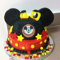 Mickey Mouse Hat Cake !!