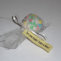 Gender Reveal Cake Ball
