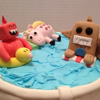 Critters Pool Party