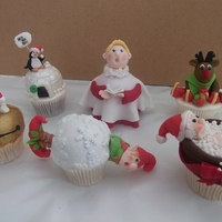 Christmas Cupcakes A selection of Christmas Cupcake that I really enjoyed making and had fun thinking up!