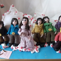 The Osmonds Cake This cake was made as a gift for the Osmonds and was presented to them by my sister in law at The Appollo in Manchester UK on March 31st...