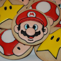 Super Mario Cookie Set