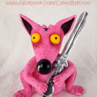 Rumo And His Miraculous Adventures Fondant Rumo & gumpaste sword