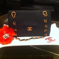 Chanel Classic Bag Cake   This cake was done hundred times. Thanks for loocking !