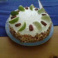 Mojito Cake! Exactly what it says on the tin! Another amazing Lorraine Pascale recipe!